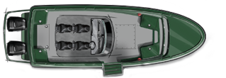 Jetfire 24 Patrol hulpvaartuig